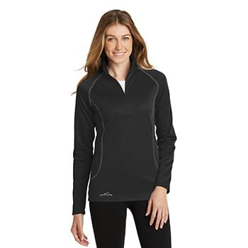 Eddie Bauer ®  Ladies 1/2-Zip Base Layer Fleece. EB237