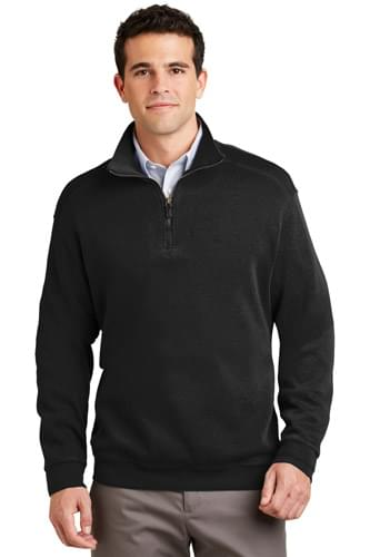 Port Authority ®  Flatback Rib 1/4-Zip Pullover.  F220