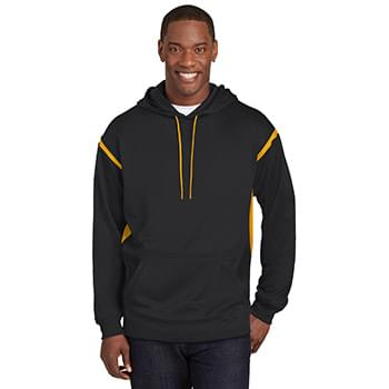 Sport-Tek ®  Tall Tech Fleece Colorblock  Hooded Sweatshirt. TST246