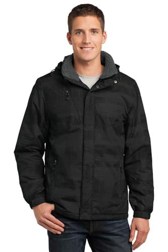 Port Authority ®  Brushstroke Print Insulated Jacket. J320