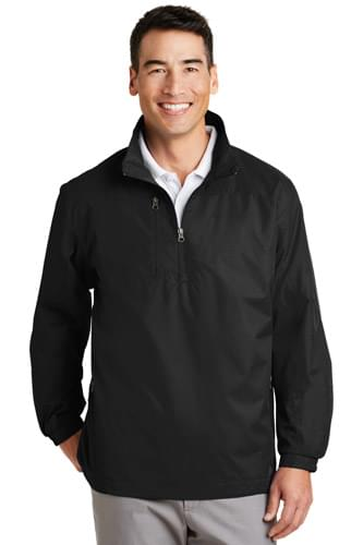 Port Authority ®  1/2-Zip Wind Jacket. J703