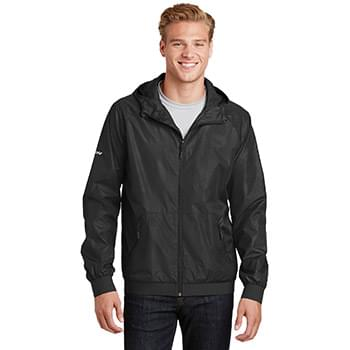 Sport-Tek ®  Embossed Hooded Wind Jacket. JST53