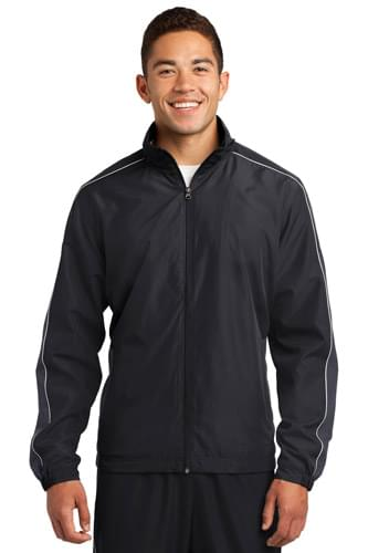 Sport-Tek ®  Piped Colorblock Wind Jacket. JST61