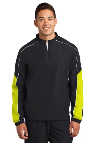 Sport-Tek ®  Piped Colorblock 1/4-Zip Wind Shirt. JST64