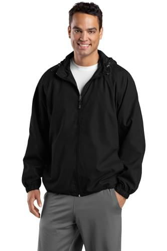 Sport-Tek ®  Tall Hooded Raglan Jacket. TJST73