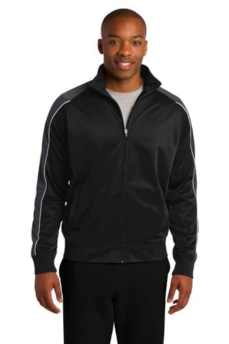 Sport-Tek ®  Piped Tricot Track Jacket. JST92