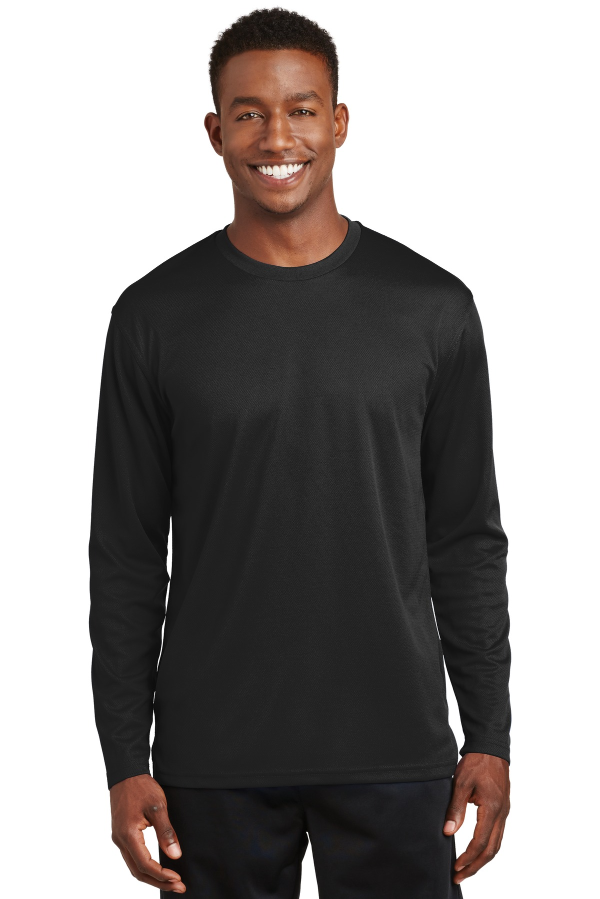 Sport-Tek ®  Dri-Mesh ®  Long Sleeve T-Shirt.  K368