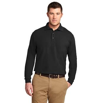Port Authority ®  Long Sleeve Silk Touch™ Polo.  K500LS