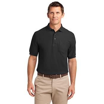 Port Authority ®  Silk Touch™ Polo with Pocket.  K500P