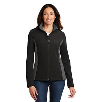 Port Authority ®  Ladies Colorblock Value Fleece Jacket. L216