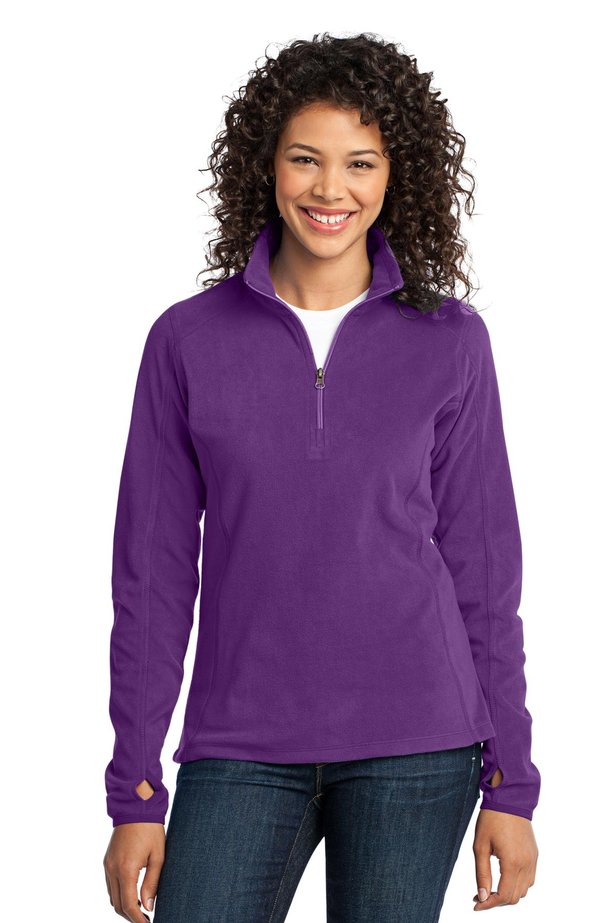 Port Authority ®  Ladies Microfleece 1/2-Zip Pullover. L224
