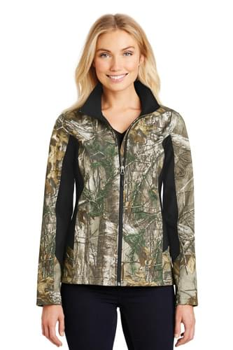 Port Authority ®  Ladies Camouflage Colorblock Soft Shell. L318C