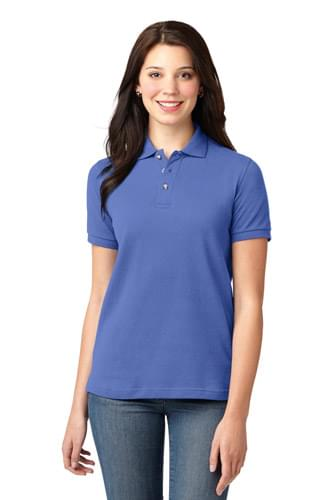 Port Authority ®  Ladies Heavyweight Cotton Pique Polo.  L420