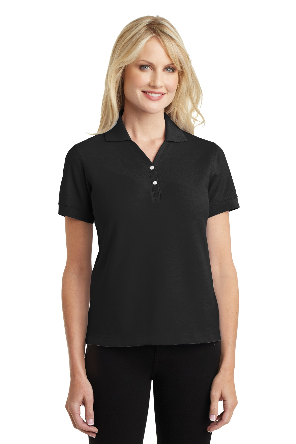 Port Authority ®  Ladies 100% Pima Cotton Polo.  L448