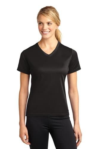 Sport-Tek ®  Dri-Mesh ®  Ladies V-Neck T-Shirt.  L468V