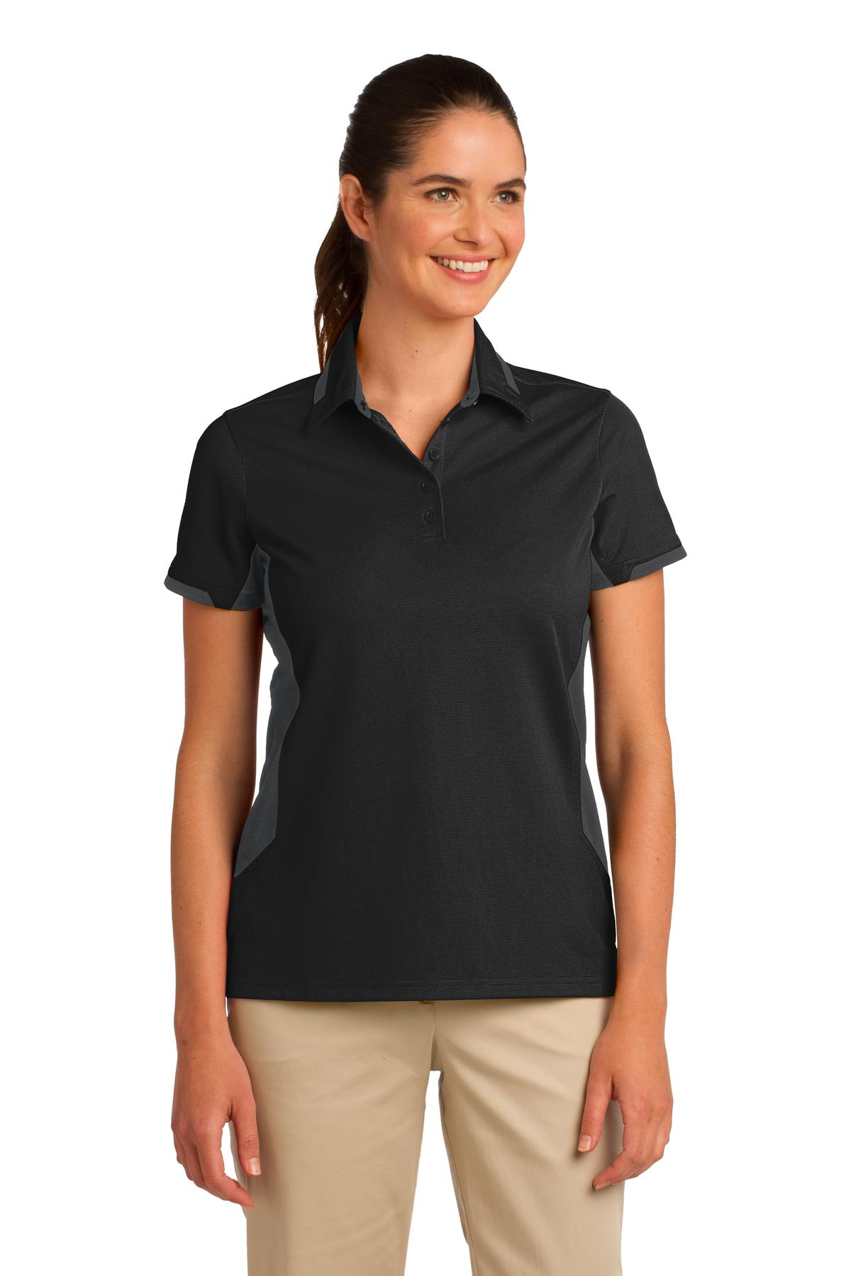 Port Authority ®  Ladies Dry Zone ®  Colorblock Ottoman Polo. L524