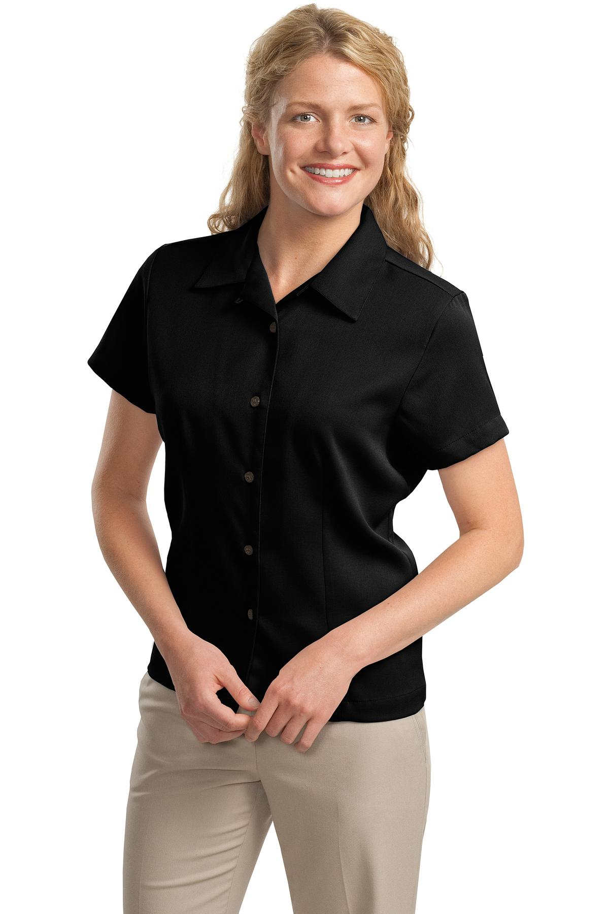 Port Authority ®  Ladies Easy Care Camp Shirt.  L535