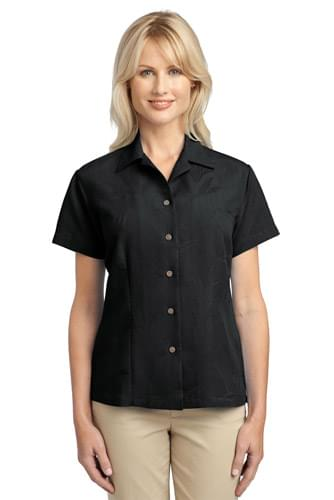 Port Authority ®  Ladies Patterned Easy Care Camp Shirt. L536
