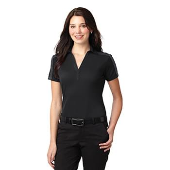 Port Authority ®  Ladies Silk Touch™ Performance Colorblock Stripe Polo. L547