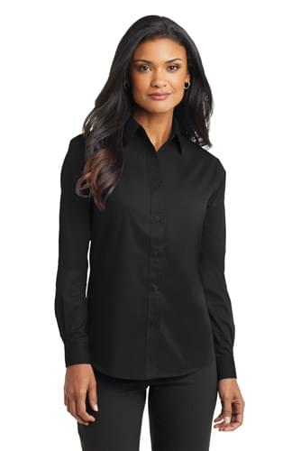 Port Authority ®  Ladies Long Sleeve Value Poplin Shirt. L632