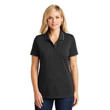Port Authority ®  Ladies Dry Zone ®  UV Micro-Mesh Tipped Polo. LK111