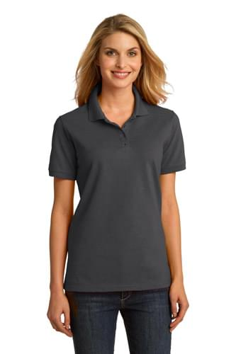 Port & Company ®  Ladies Ring Spun Pique Polo. LKP150