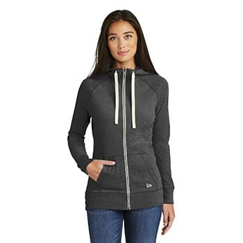 New Era  ®  Ladies Sueded Cotton Blend Full-Zip Hoodie. LNEA122