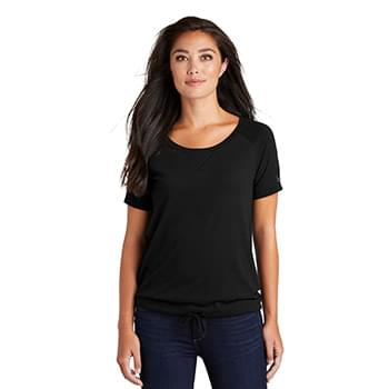 New Era  ®  Ladies Tri-Blend Performance Cinch Tee. LNEA133