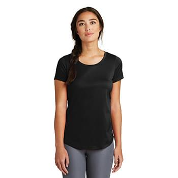 New Era  ®  Ladies Series Performance Scoop Tee. LNEA200