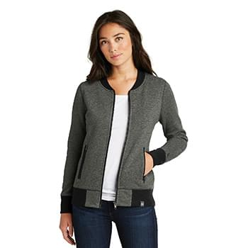 New Era  ®  Ladies French Terry Baseball Full-Zip. LNEA503