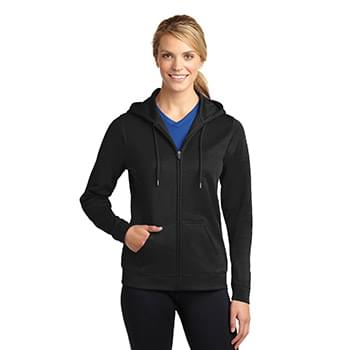 Sport-Tek ®  Ladies Sport-Wick ®  Fleece Full-Zip Hooded Jacket. LST238