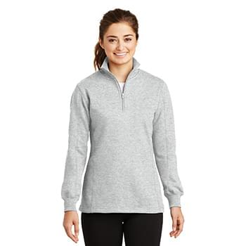 Sport-Tek ®  Ladies 1/4-Zip Sweatshirt. LST253