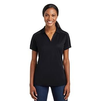 Sport-Tek ®  Ladies Micropique Sport-Wick ®  Piped Polo. LST653