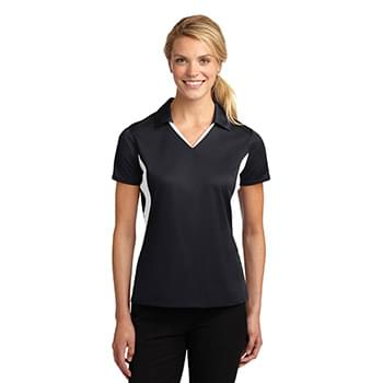 Sport-Tek ®  Ladies Side Blocked Micropique Sport-Wick ®  Polo. LST655