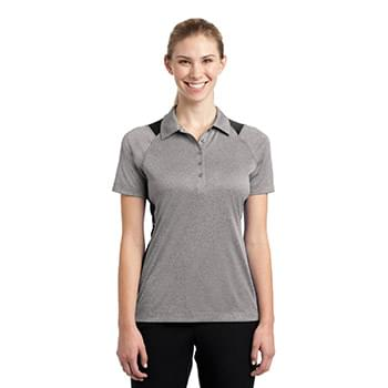 Sport-Tek ®  Ladies Heather Colorblock Contender ™  Polo. LST665