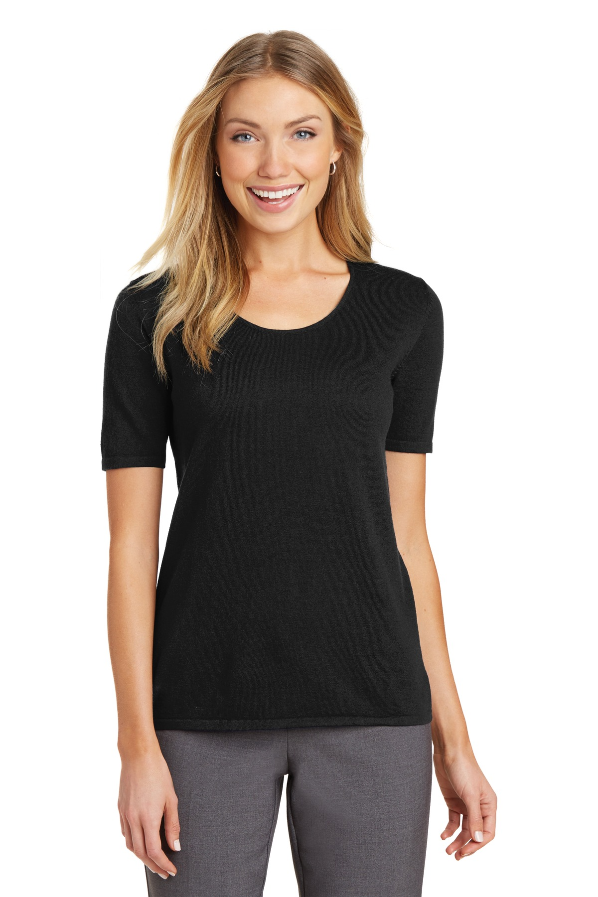 Port Authority ®  Ladies Scoop Neck Sweater. LSW291