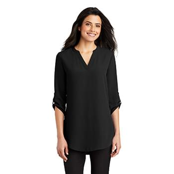 Port Authority ®  Ladies 3/4-Sleeve Tunic Blouse. LW701