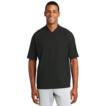 New Era  ®  Cage Short Sleeve 1/4-Zip Jacket. NEA600