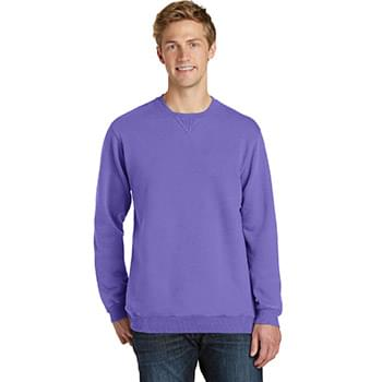 Port & Company ®  Garment-Dyed Crewneck Sweatshirt. PC098