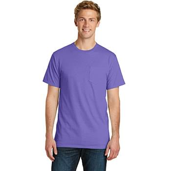 Port & Company ®  Pigment-Dyed Pocket Tee.  PC099P