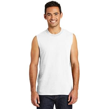 Port & Company  ®  Core Cotton Sleeveless Tee. PC54SL