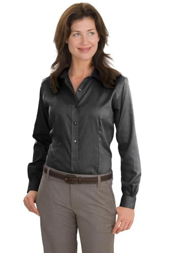 Red House ®  - Ladies Nailhead Non-Iron Shirt.  RH47