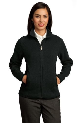 Red House ®  - Ladies Sweater Fleece Full-Zip Jacket. RH55