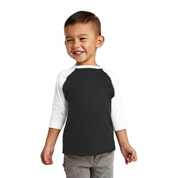 Rabbit Skins ™  Toddler Baseball Fine Jersey Tee. RS3330