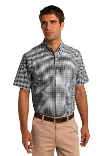 Port Authority ®  Short Sleeve Gingham Easy Care Shirt. S655