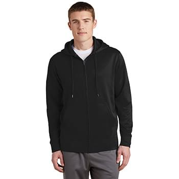Sport-Tek ®  Sport-Wick ®  Fleece Full-Zip Hooded Jacket.  ST238