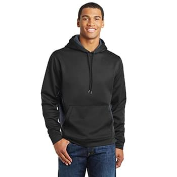 Sport-Tek ®  Sport-Wick ®  CamoHex Fleece Colorblock Hooded Pullover. ST239