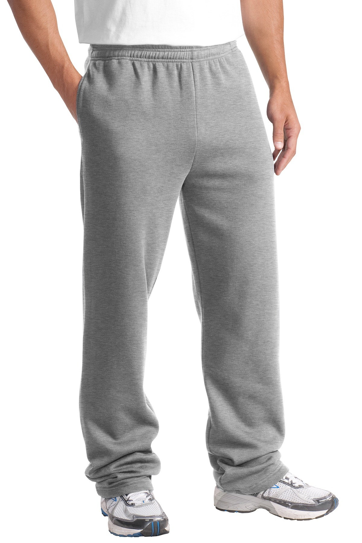 Sport-Tek ®  Open Bottom Sweatpant. ST257