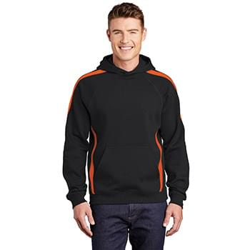 Sport-Tek ®  Sleeve Stripe Pullover Hooded Sweatshirt. ST265