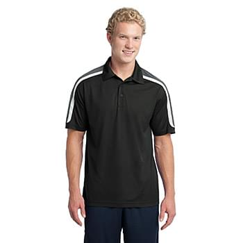 Sport-Tek ®  Tricolor Shoulder Micropique Sport-Wick ®  Polo. ST658